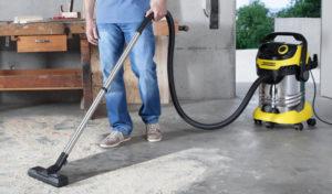7 лучших строительных пылесосов