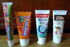 9 лучших зубных паст для детей