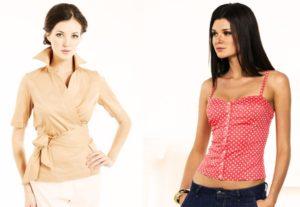 Как выбрать блузку