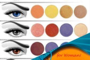 12 правил выбора теней для голубых глаз