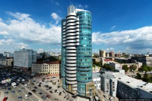 10 самых высоких зданий в Новосибирске