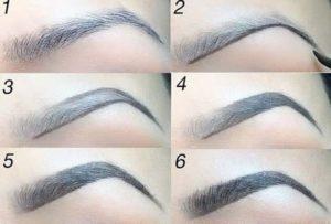 4 способа красиво накрасить брови карандашом