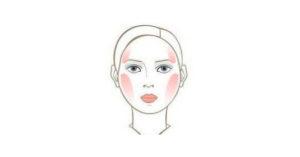 8 советов нанесения румян на круглое лицо