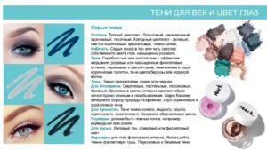 12 правил выбора теней для серых глаз