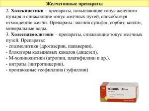 6 лучших желчегонных препаратов