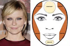 17 особенностей макияжа для круглого лица