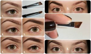 5 способов красиво накрасить брови тенями