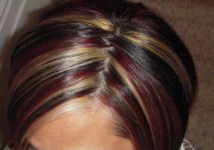 Сравниваем мелирование и колорирование волос   Что лучше