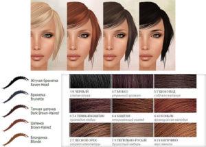 Как выбрать краску для бровей