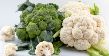 Сравниваем цветную капусту и брокколи | Что полезнее