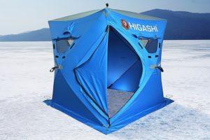 8 лучших зимних палаток для рыбалки
