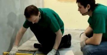 Как правильно заменить одну плитку на полу   Экспертный материал