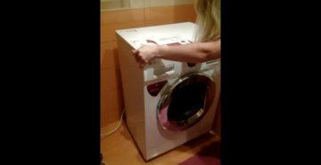 Почему из стиральной машины не вымывается порошок | Главные причины