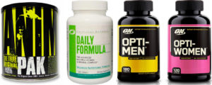 10 лучших витаминов для спортсменов