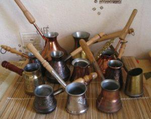 Как выбрать турку для приготовления кофе