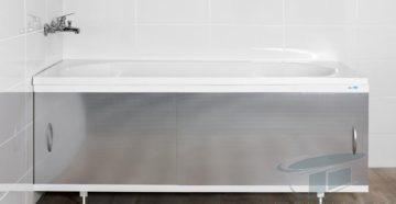 Как установить экран под ванну   6 простых шагов